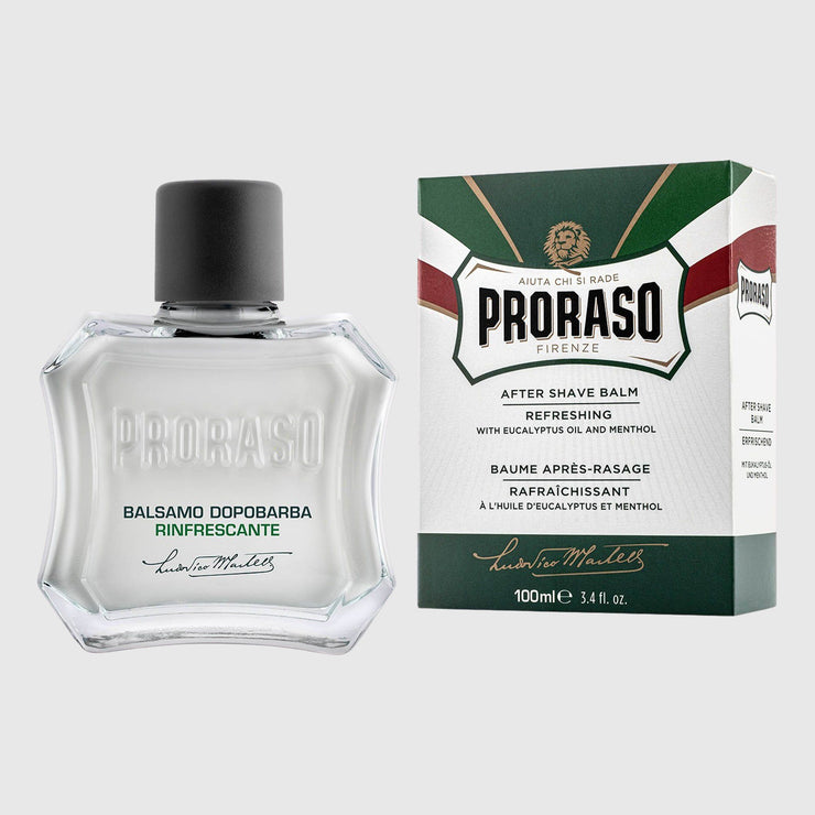 Proraso Liquid After Shave Balm - Eucalyptus & Menthol Shave Products Proraso