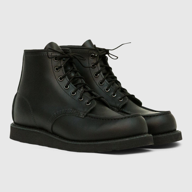 Red Wing Moc Toe Boots - Black Footwear Red Wing