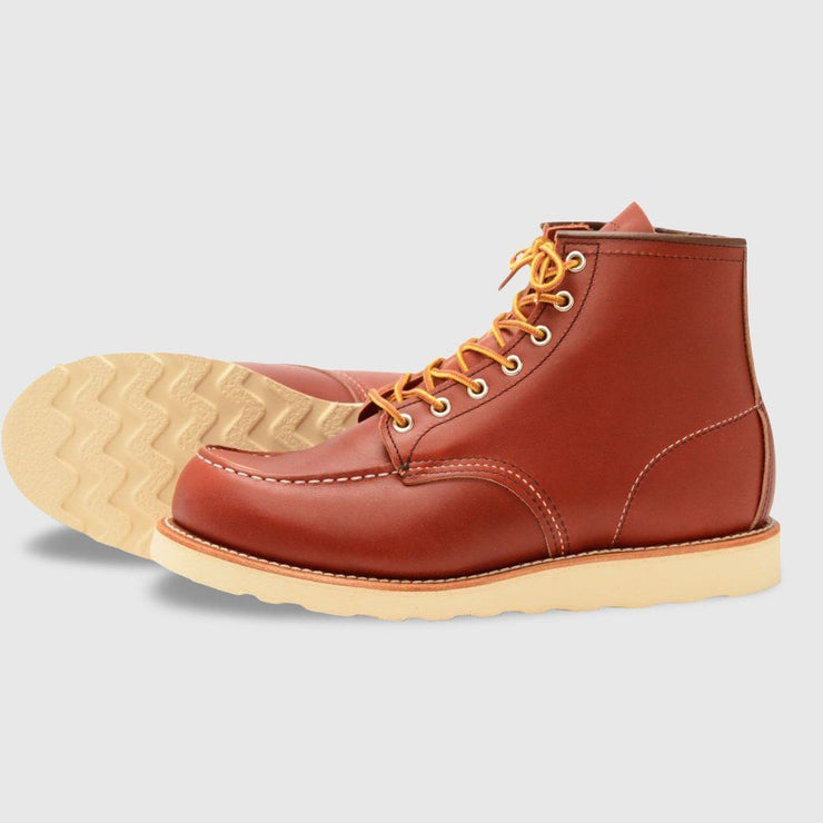 Red Wing Moc Toe Boots - Light Brown Footwear Red Wing