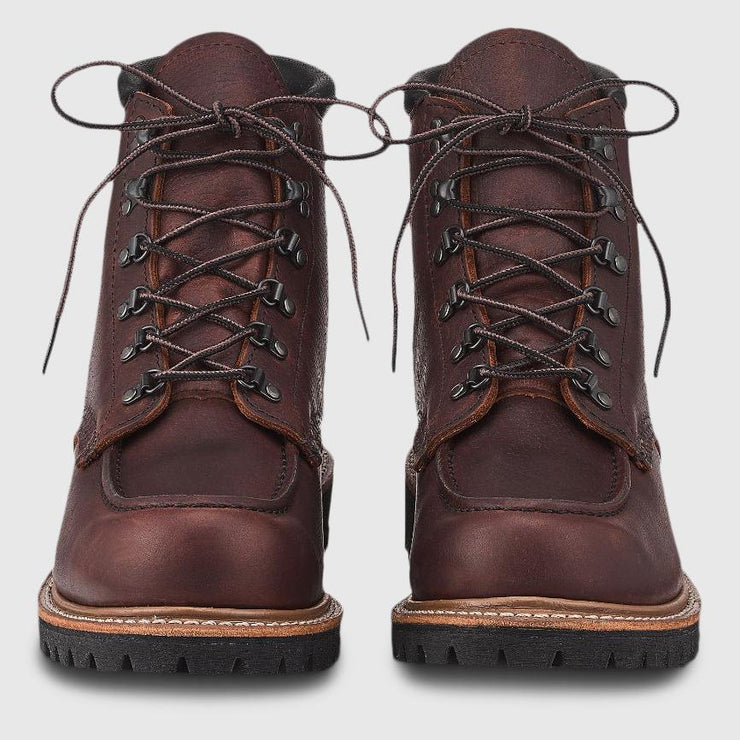 Red Wing Sawmill Boots - Briar Oil Slick Leather Boots Red Wing