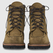 Red Wing Sawmill Boots - Olive Mohave Leather Boots Red Wing