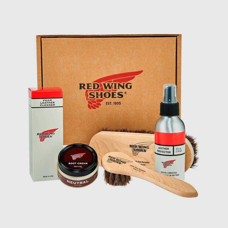 Red Wing Smooth-Finished Leather Care Kit Shoe & Garment Care Red Wing