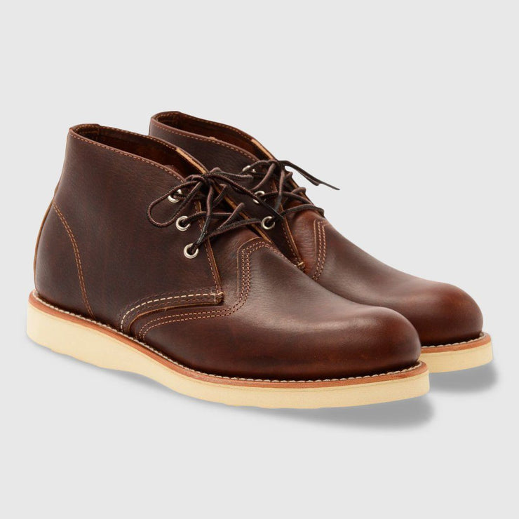 Red Wing Work Chukka Boots - Brown Footwear Red Wing