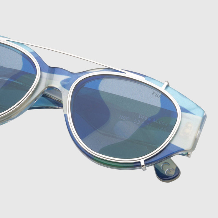 Retrosuperfuture x Andy Warhol Drew Mama Camouflage Sunglasses Retrosuperfuture
