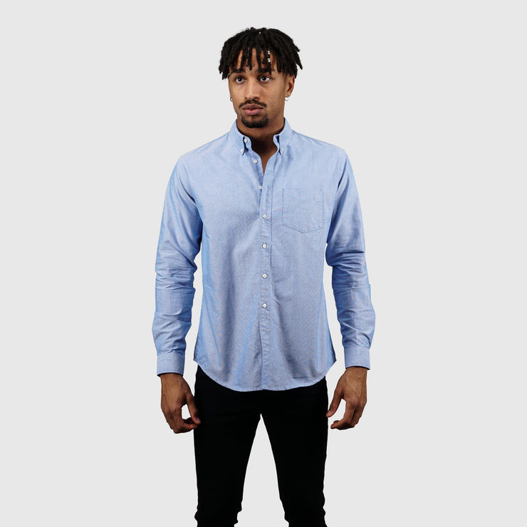 Schnayderman's Oxford One Shirt - Blue Shirt Schnayderman's