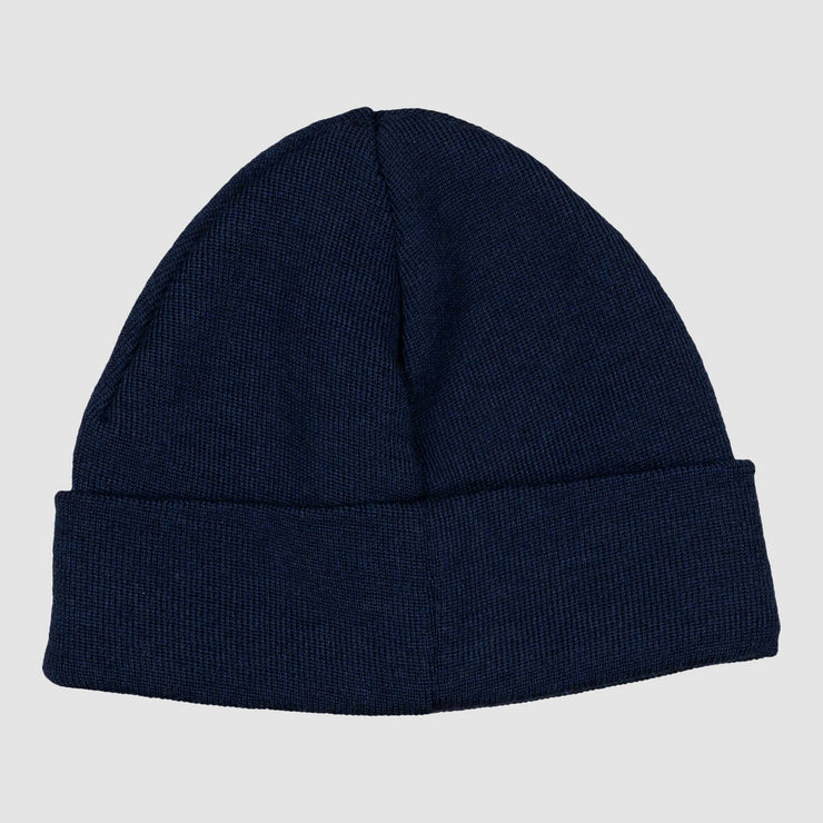 Special Lemon Logo Beanie - Navy White Headwear Special Lemon