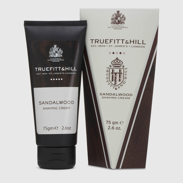 Truefitt & Hill Shaving Cream - Sandalwood Shave Products Truefitt & Hill