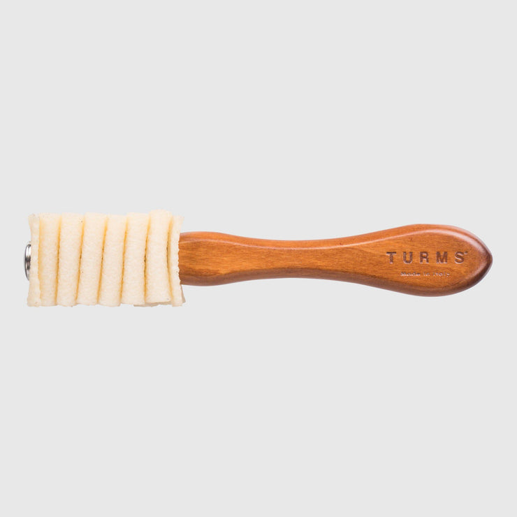 Turms Natural Rubber Shoe Brush- Brown Shoe Care Turms