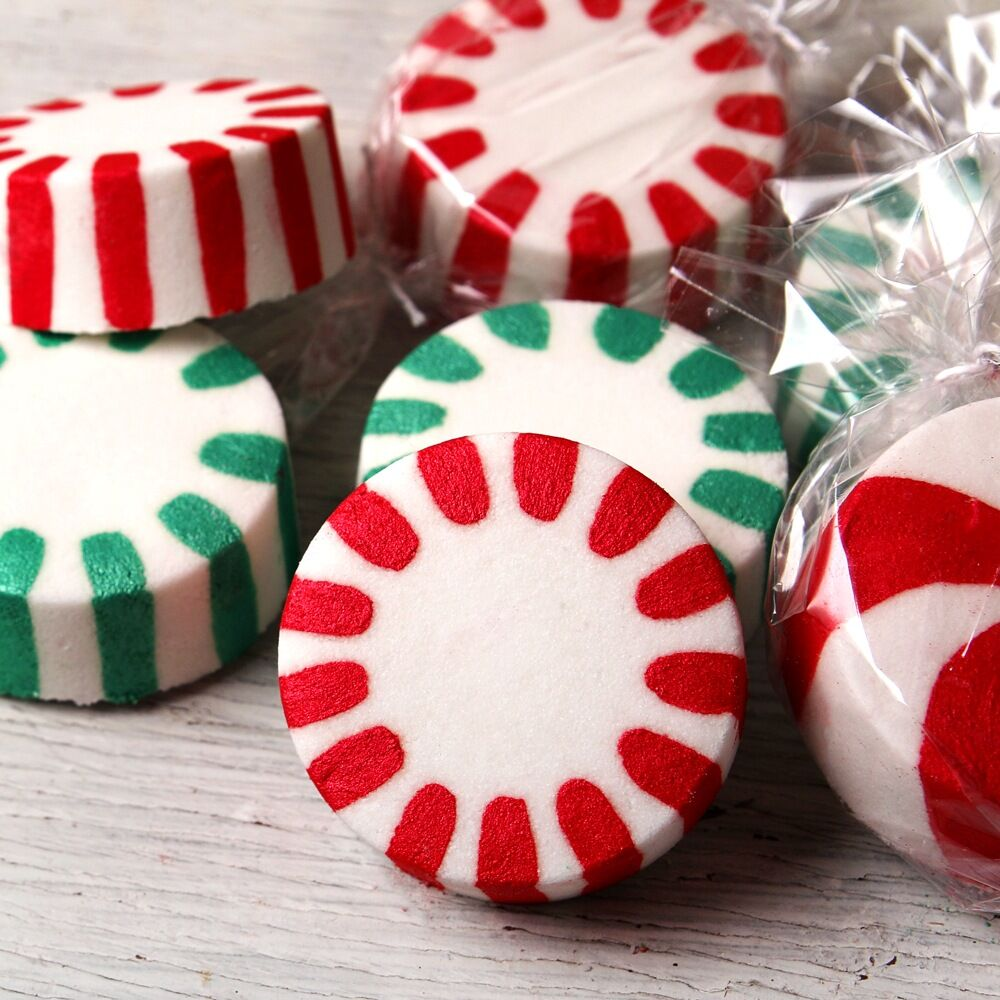Peppermint Fizz Bath Fizzie are in the house!