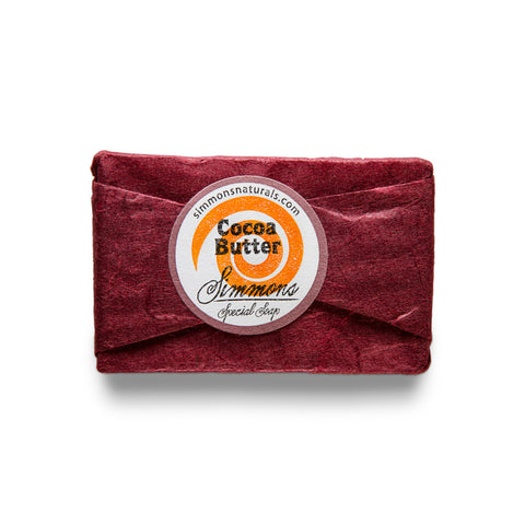 Cocoa Butter Bar Soap | Simmons Natural Bodycare - 4