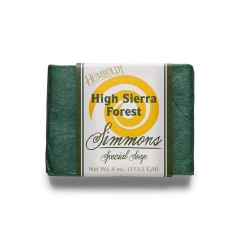 High Sierra Forest Bar Soap | Simmons Natural Bodycare - 1