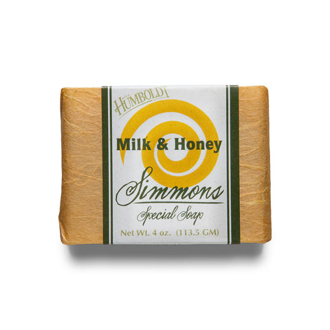 Milk and Honey Bar Soap | Simmons Natural Bodycare - 1