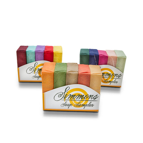 Mini Soap Sampler | Simmons Natural Bodycare