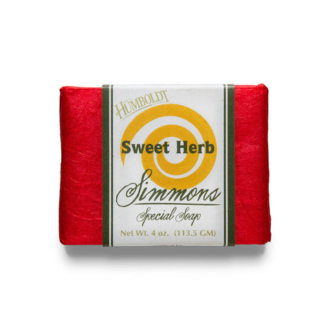 Sweet Herb Bar Soap | Simmons Natural Bodycare - 1