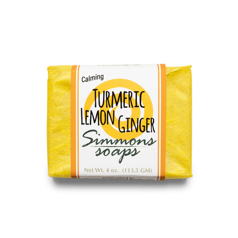 Turmeric, Lemon, Ginger Bar Soap