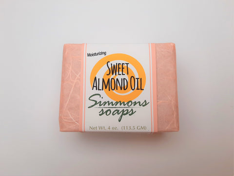 Sweet Almond. Mild & enriched with Vitamin E and almond oil.