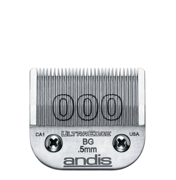 Andis UltraEdge ekstrablad - fra 0.1 til 6.3 mm Ekstrablader Andis 0.5 mm - 000