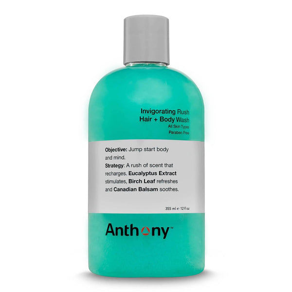 Anthony Invigorating Rush Hair & Body Wash Hår- og dusjgelé Anthony
