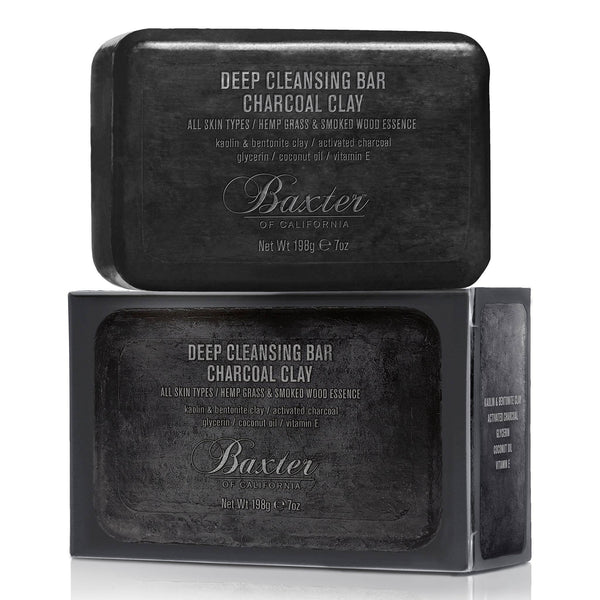 Baxter of California 3-in-1 Deep Cleansing Charcoal Bar Kroppsvask Baxter of California