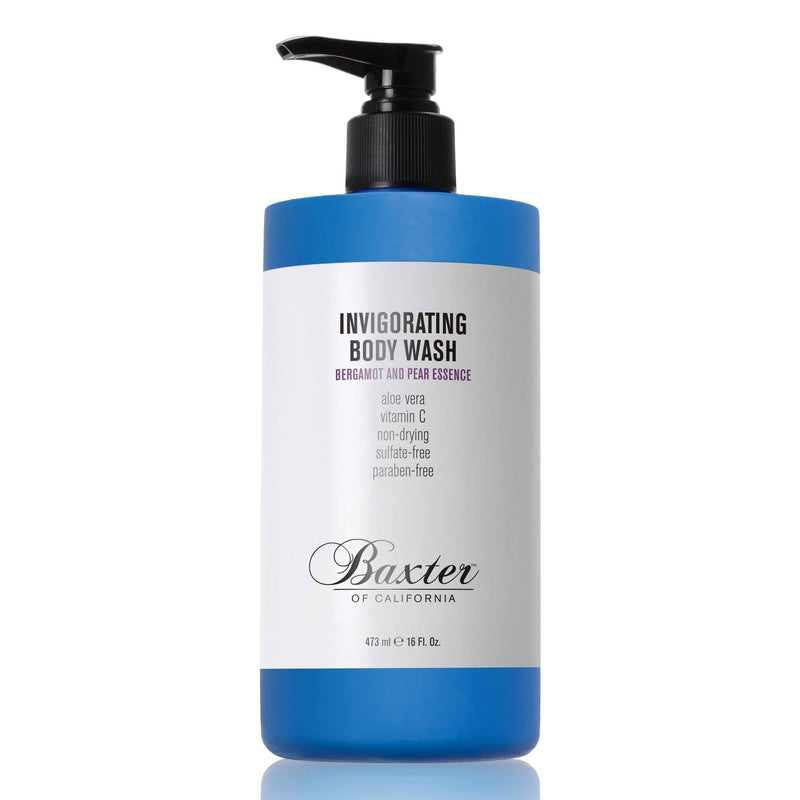 Baxter of California Invigorating Body Wash Kroppsvask Baxter of California Bergamottappelsin og pære 473 ml
