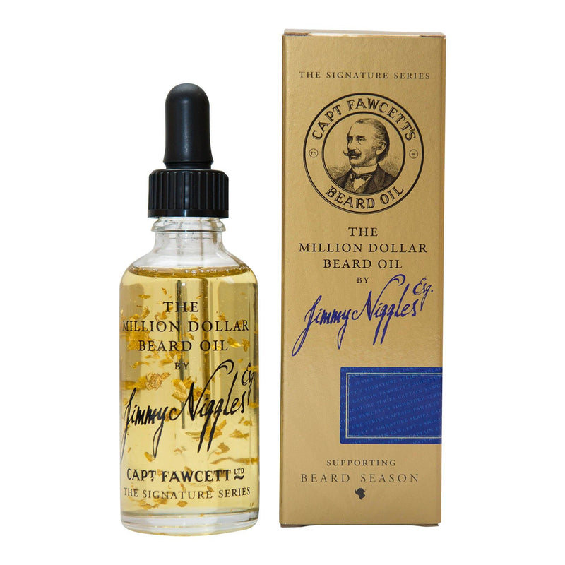 Captain Fawcett's Million Dollar Beard Oil by Jimmy Niggles Esq. Skjeggolje Captain Fawcett