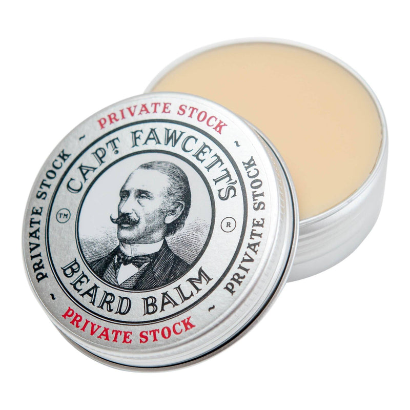 Captain Fawcett's Private Stock Beard Balm Skjeggpomade Captain Fawcett