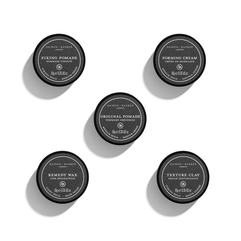 Daimon Barber World Traveller 10 g x 5 Hårstyling Daimon Barber