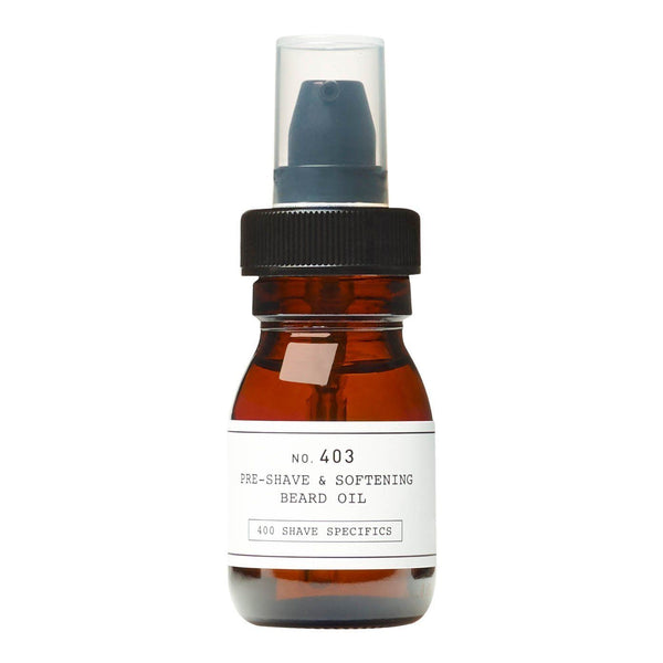 Depot No. 403 Pre-Shave & Softening Beard Oil Barberolje Depot
