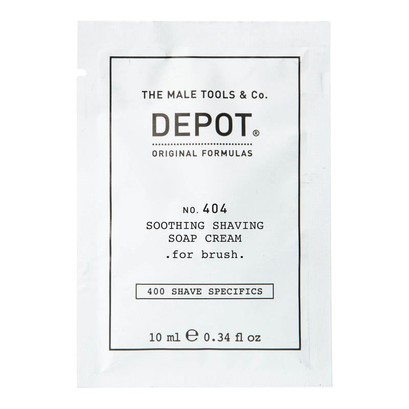 Depot No. 404 Soothing Shaving Cream - Vareprøve Barberkrem Depot