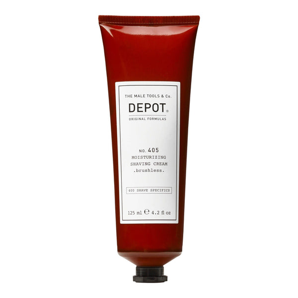Depot No. 405 Moisturizing Shave Cream Barberkrem Depot 125 ml