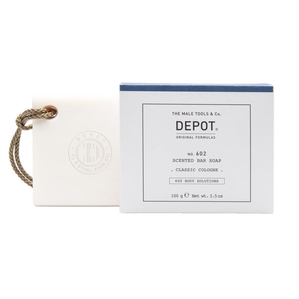 Depot No. 602 Scented Bar Soap Kroppssåpe Depot Classic Cologne