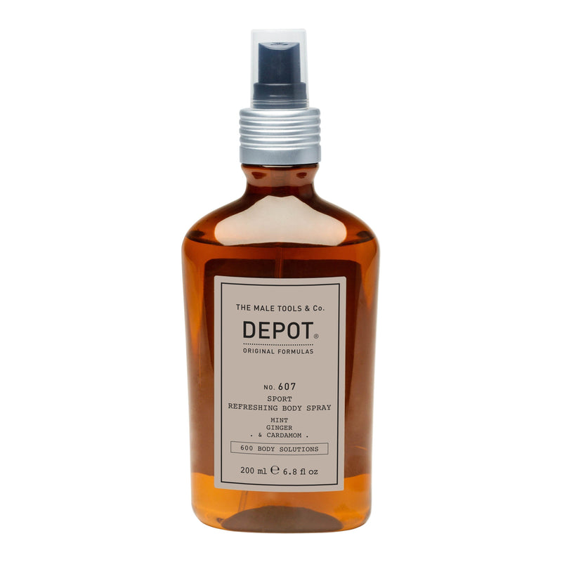 Depot No. 607 Sport Refreshing Body Spray Deodorant Depot