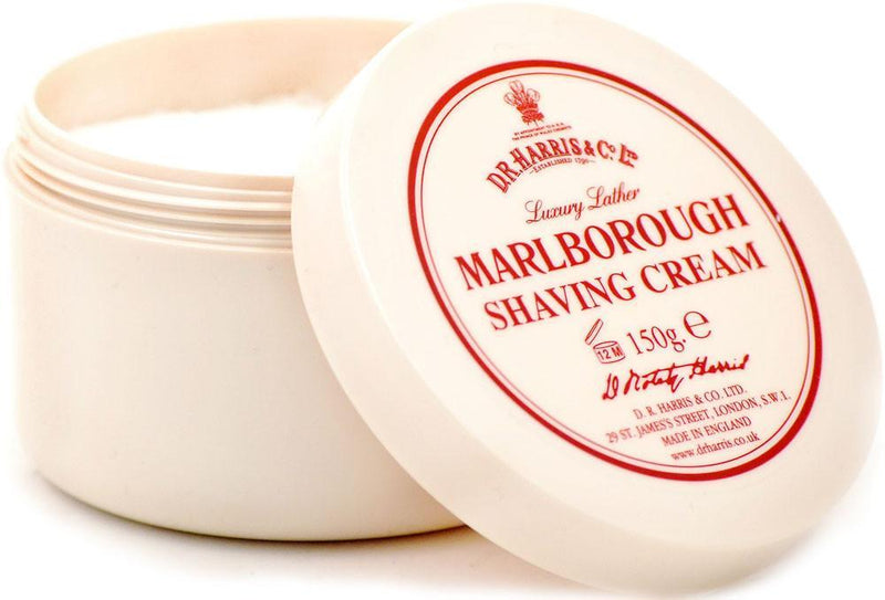 D.R. Harris barberkrem i skål - Marlborough Barberkrem i skål D.R. Harris