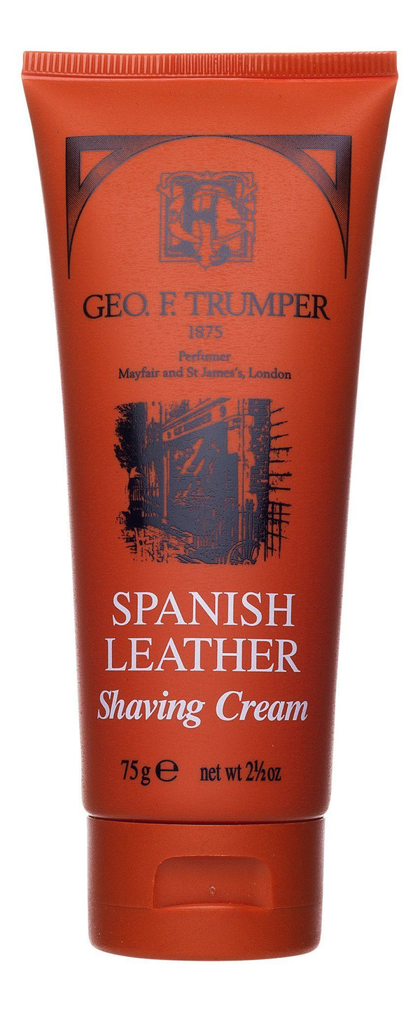 Geo F. Trumper barberkrem i tube - Spanish Leather Barberkrem i tube Geo F. Trumper