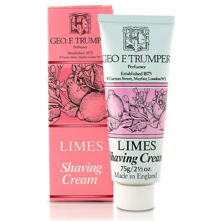 Geo F. Trumper barberkrem i tube - West Indian Limes Barberkrem i tube Geo F. Trumper