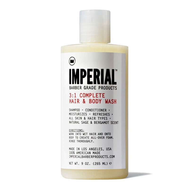 Imperial Barber Products - 3:1 Complete Hair & Body Wash - Sjampo og kroppsvask Hår- og dusjgelé Imperial Barber Products