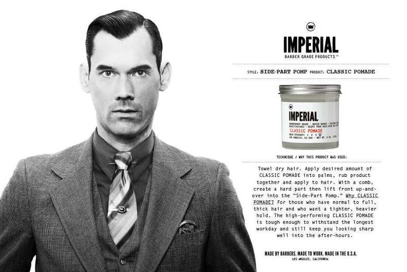 Imperial Barber Products Classic Pomade Hårstyling Imperial Barber Products