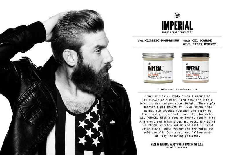 Imperial Barber Products Gel Pomade Hårstyling Imperial Barber Products