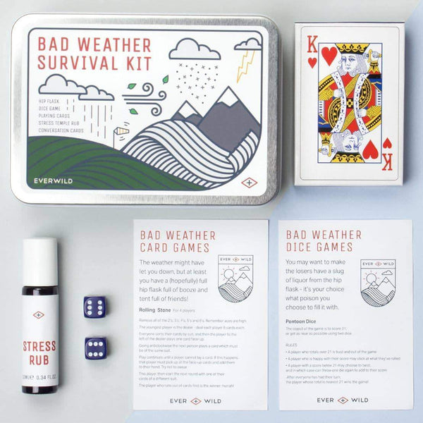 Men's Society Bad Wather Survival Kit Gavesett - Annet Men's Society