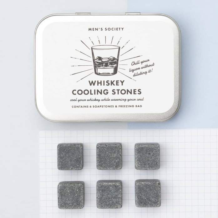 Men's Society Whiskey Cooling stones Diverse Men's Society