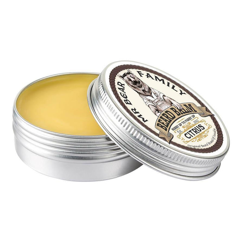 Mr Bear Family Beard Balm skjeggpomade - Citrus Skjeggpomade Mr Bear Family