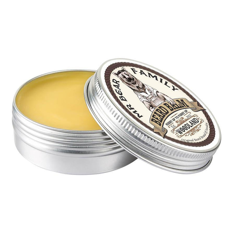 Mr Bear Family Beard Balm skjeggpomade - Woodland Skjeggpomade Mr Bear Family