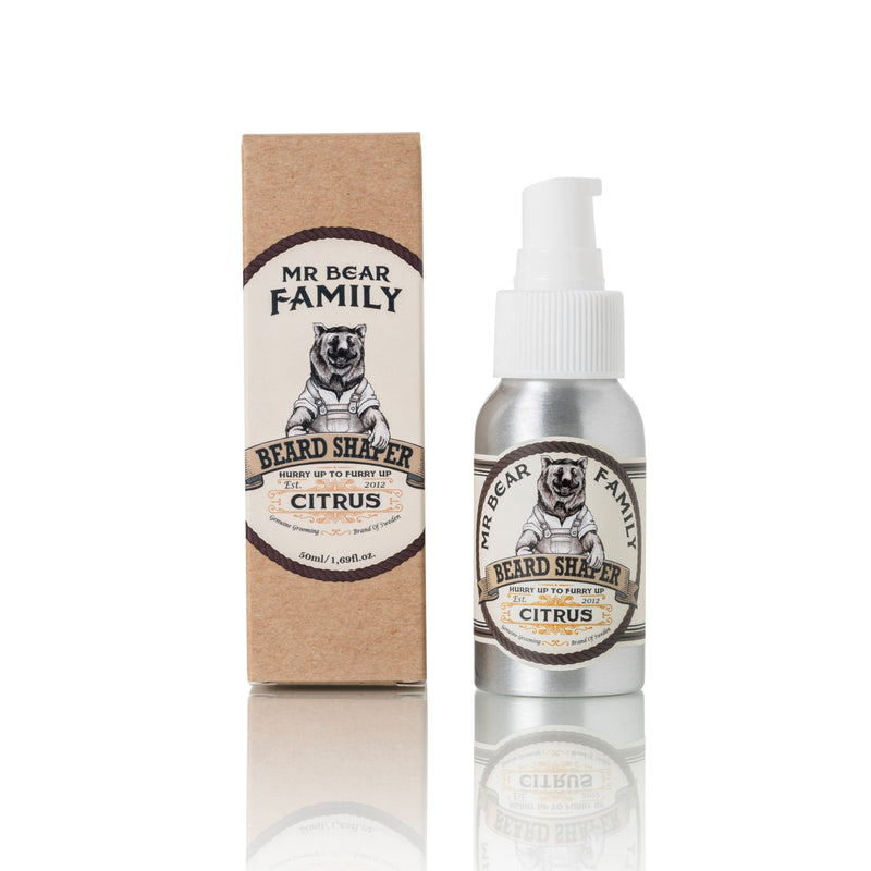 Mr Bear Family Beard Shaper skjegglotion Skjegglotion Mr Bear Family Citrus