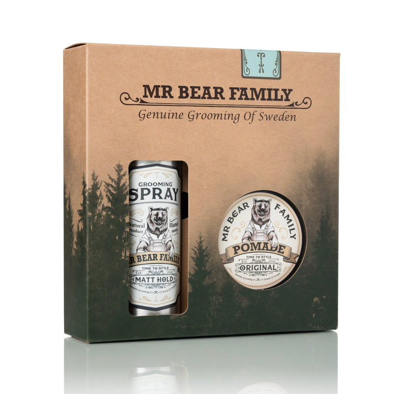 Mr Bear Family styling-kit Gavesett - Hår Mr Bear Family Sweetwood