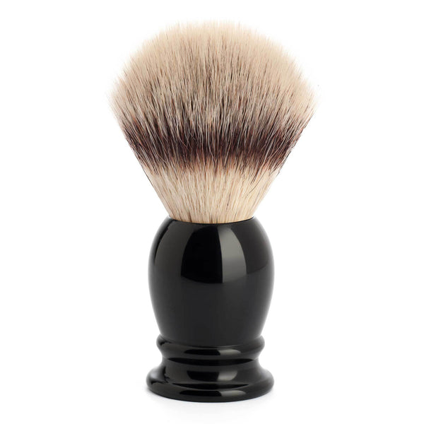Mühle Classic Style Silvertip Fibre barberkost Barberkost - Syntetisk Mühle Sort 1