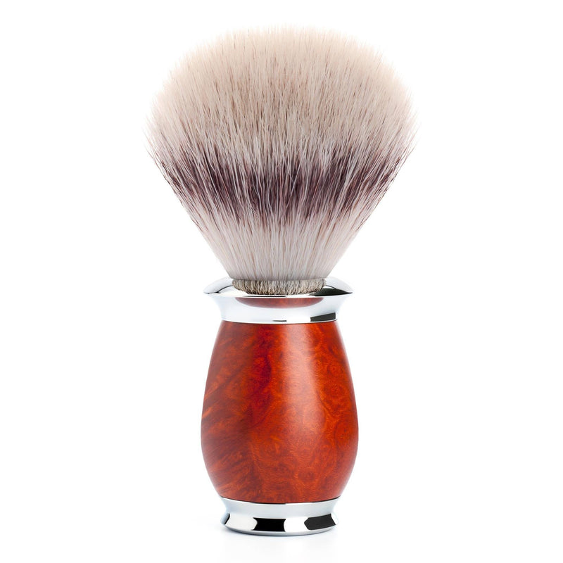 Mühle Purist Silvertip Fibre barberkost Barberkost - Syntetisk Mühle Bruyére-tre
