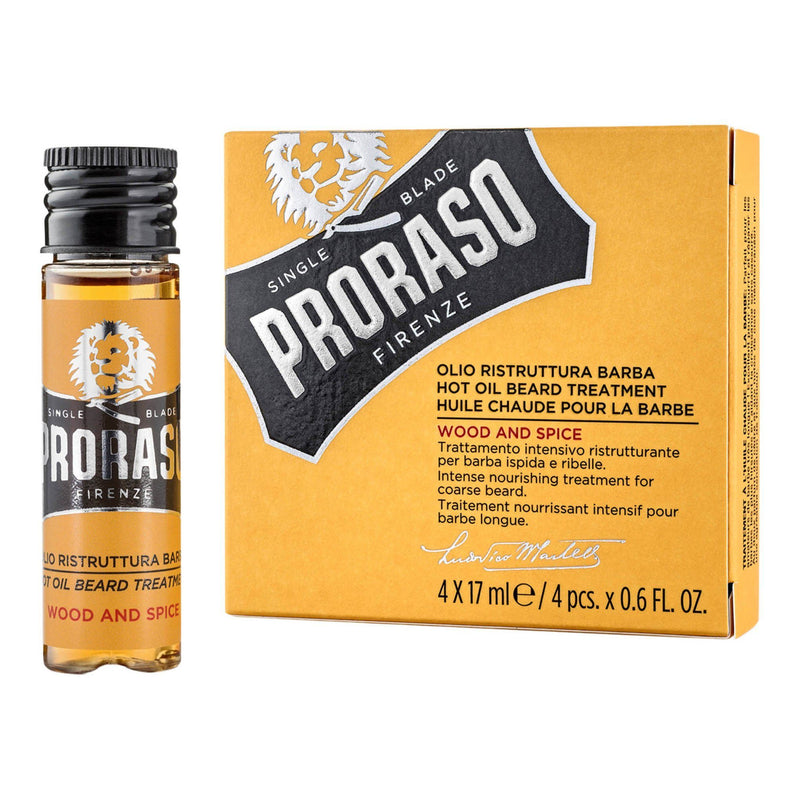 Proraso Hot Oil Beard Treatment skjeggolje Skjeggolje Proraso