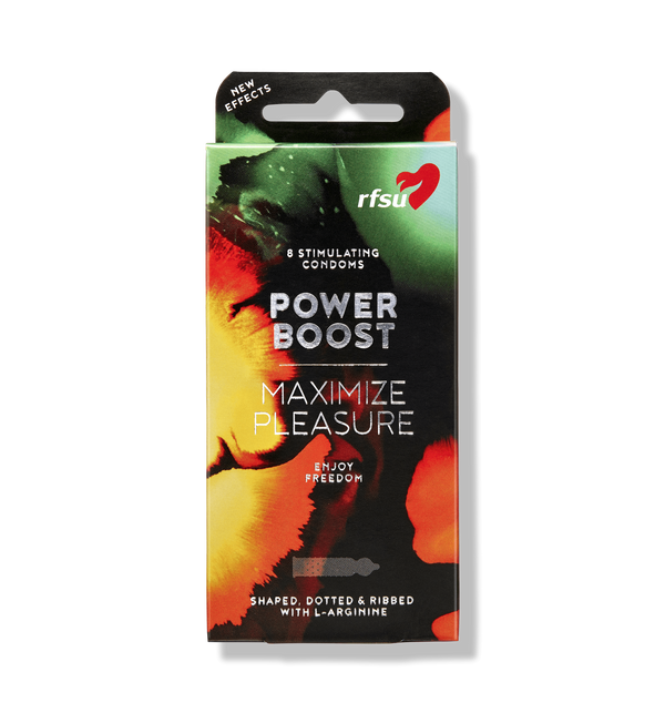 RFSU kondomer Power Boost 8-pakning Kondomer RFSU