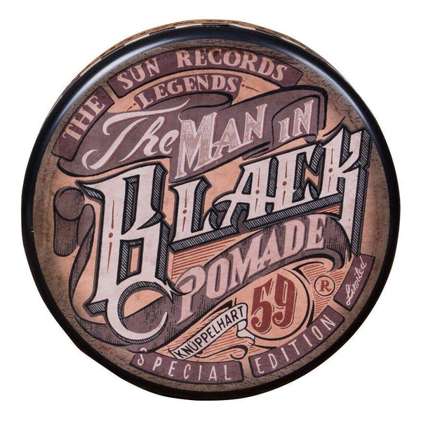 Schmiere Special Edition The Man in Black - Rock-Hard Pomade Schmiere