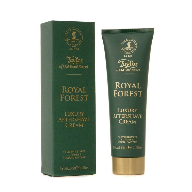 Taylor of Old Bond Street Luxury Aftershave Cream - Royal Forest Etterbarberingskrem Taylor of Old Bond Street
